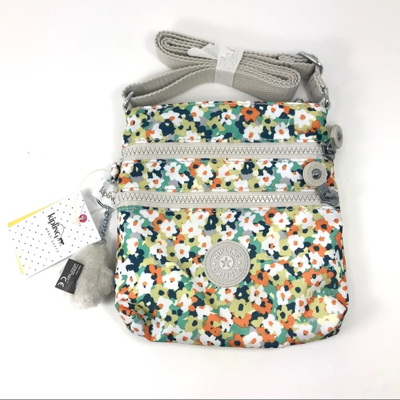 fc57913678 NWT Kipling Alvar XS Printed Mini Crossbody Bag